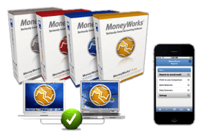 Moneyworks on Mac and Windows