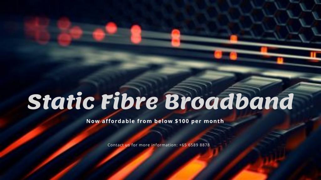 static fibre broadband
